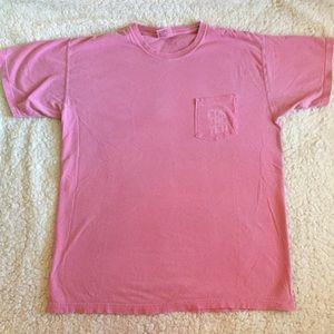 Comfort Colors Pink Pocket Tee Yeti Campus Stories